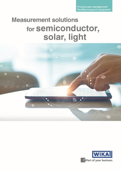 "Nuova brochure ""Measurement solutions for semiconductor, solar, light"""